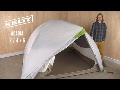 Kelty Acadia 2 / 4 / 6 & Acadia 6 Person Camping Tent | Kelty