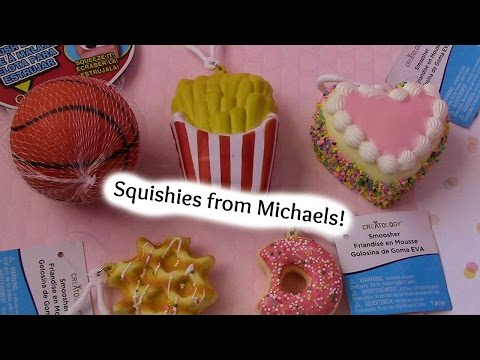 Squishy Haul From Michaels : Squishies from Michaels! : VideoNET.si