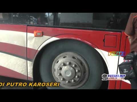 JOSS,,,!!! Test AIR SUSPENSION Scania K410 keren banget....if Agra Mas Double Deck