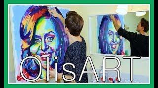 Michelle Obama Portrait | OlisART