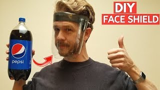 EASY DIY FACE SHIELD MASK from…