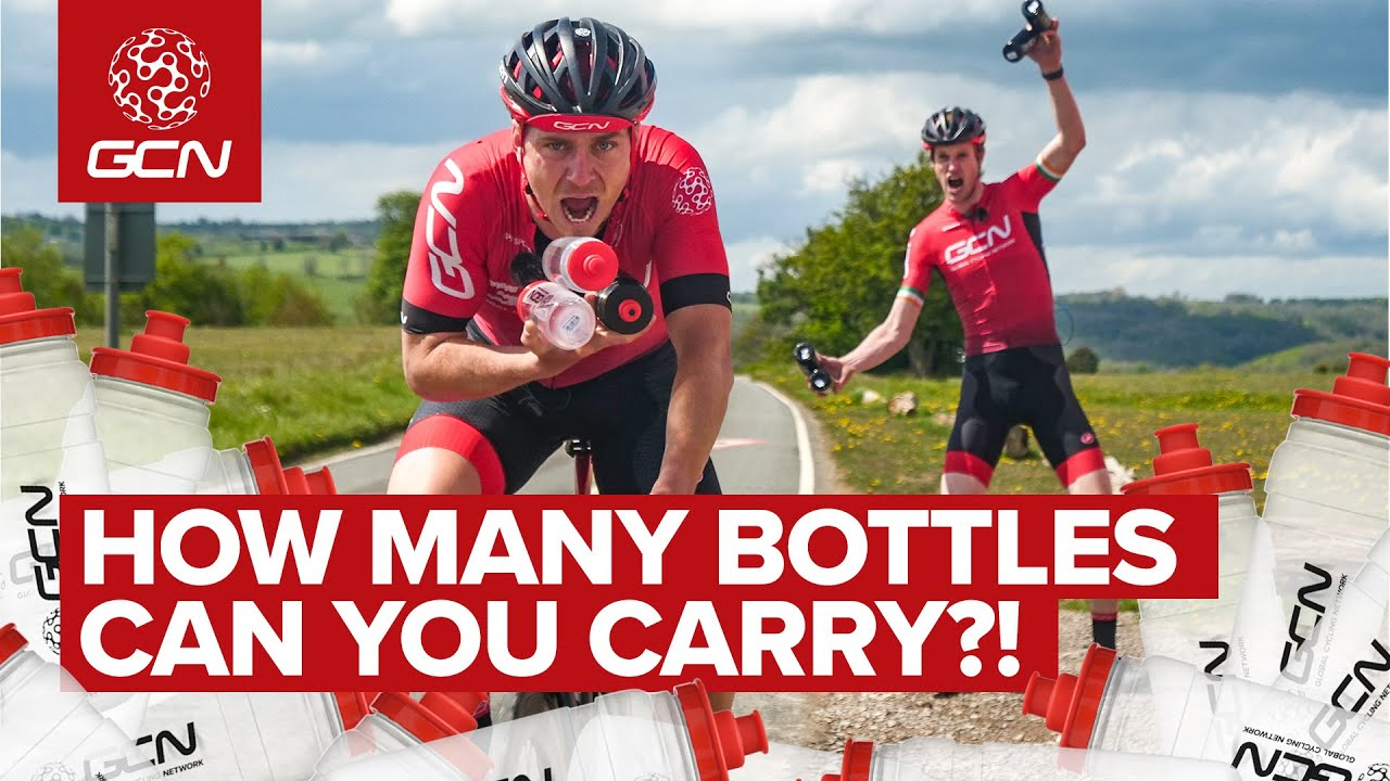 GCN's Grand Tour Domestique Challenge| How Many Water Bottles Can You Carry?!