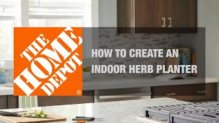 DIY Herb Garden | Small Garden Ideas | The Home Depot