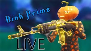 BINH PRIME | Show mặt tiếp nè AE , 7h Squad Scrims chuẩn bị cho giải tháng 12 nào !