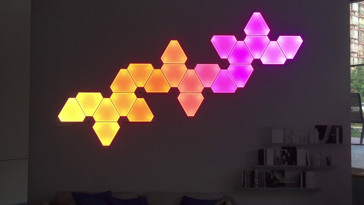 Nanoleaf Aurora Product Launch In Shanghai Youtube