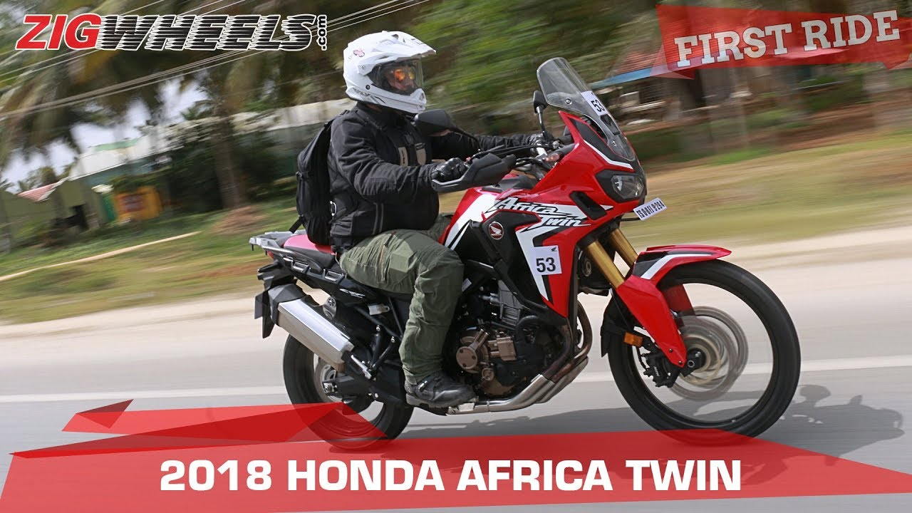 2018 honda africa twin review 5 things to know. Black Bedroom Furniture Sets. Home Design Ideas
