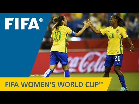 HIGHLIGHTS: Brazil v. Korea Republic - FIFA Women's World Cup 2015