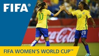 HIGHLIGHTS: Brazil v. Korea Republic - FIFA Women