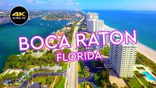Boca Raton - Florida - Aerial 4K Drone