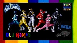 Mighty Morphin Power Rangers - The Movie Online (retro game 1995)