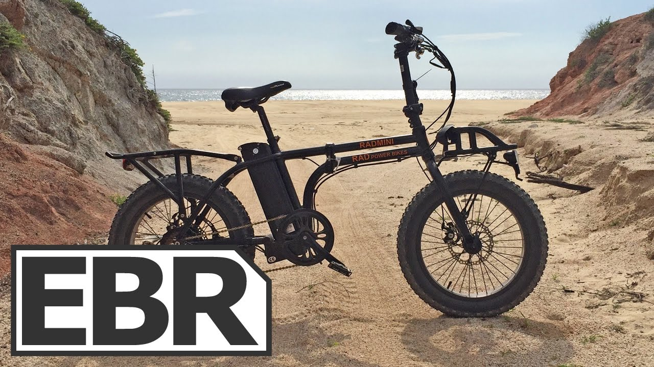 Rad Power Bikes Radmini Video Review Compact Folding Fat