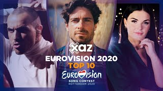 Eurovision 2020: Top 10 - NEW 🇫🇷