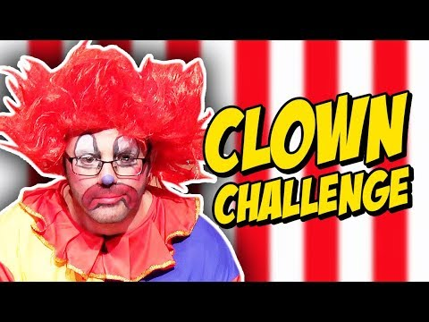CREEPY CLOWN CHALLENGE!