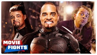 Sinbad in Batman?! WEIRD MOVIE FIGHTS!