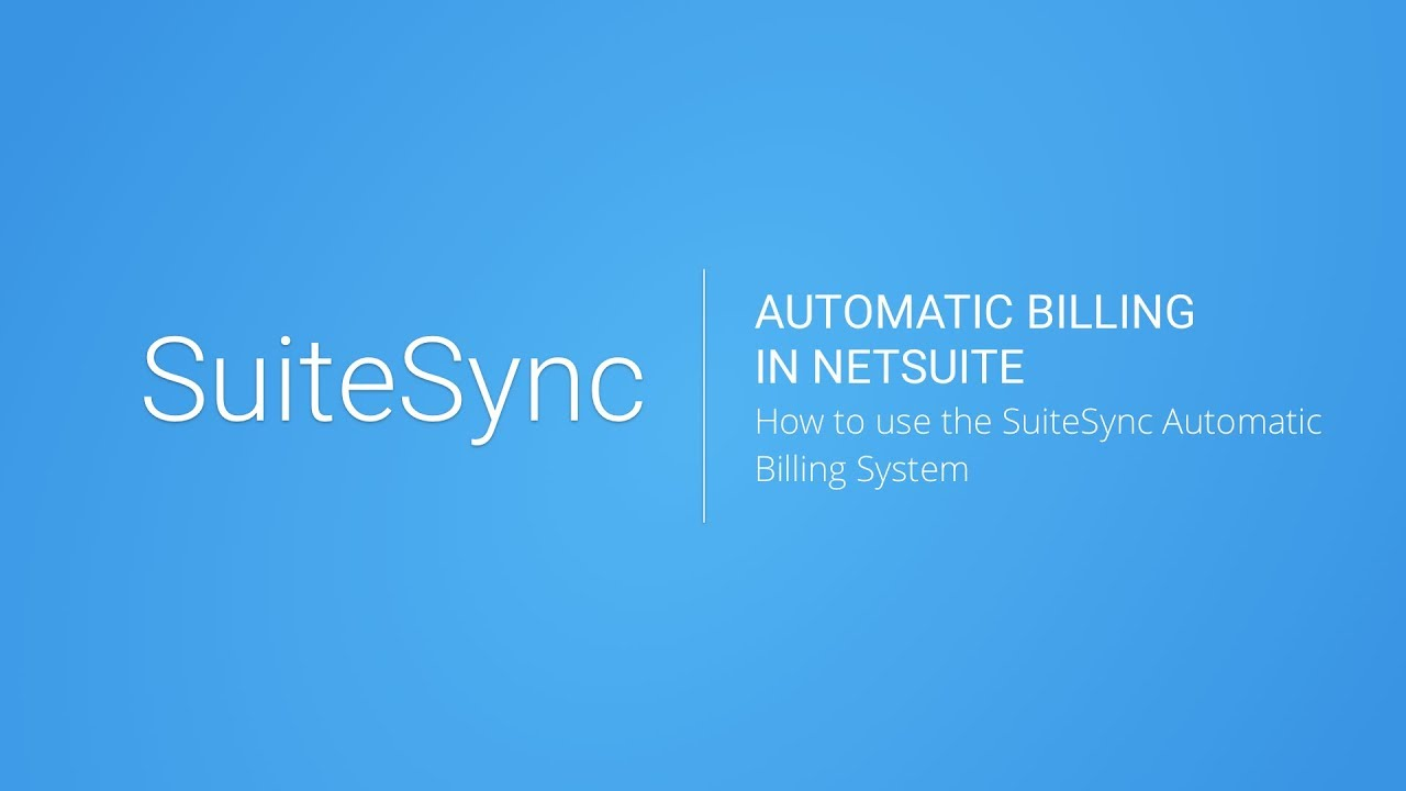 Stripe NetSuite Connector - Automatic NetSuite Invoice Payment Using
