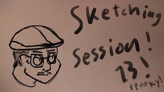 Sketching Session #13 - THE G-MAN
