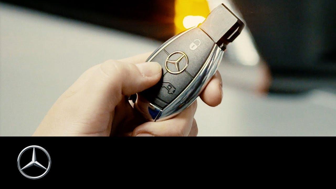 how to program the key of your mercedes benz van [ 1280 x 720 Pixel ]