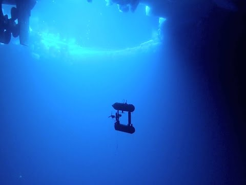 Scientists successfully test an unmanned underwater vehicle beneath Antarctic sea ice