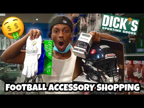 Football Accessory Shopping At Dick's Sporting Goods!🤑🏈*Every Football Player NEEDS These✅*
