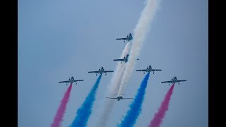 台湾空軍嘉義基地 107年國防知性之旅 營区開放 雷虎小組 特技操演