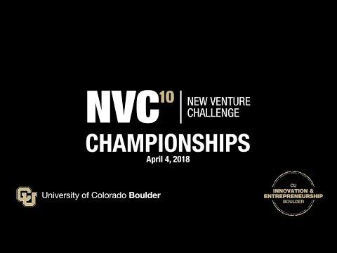 CU Boulder New Venture Challenge 10 Championships