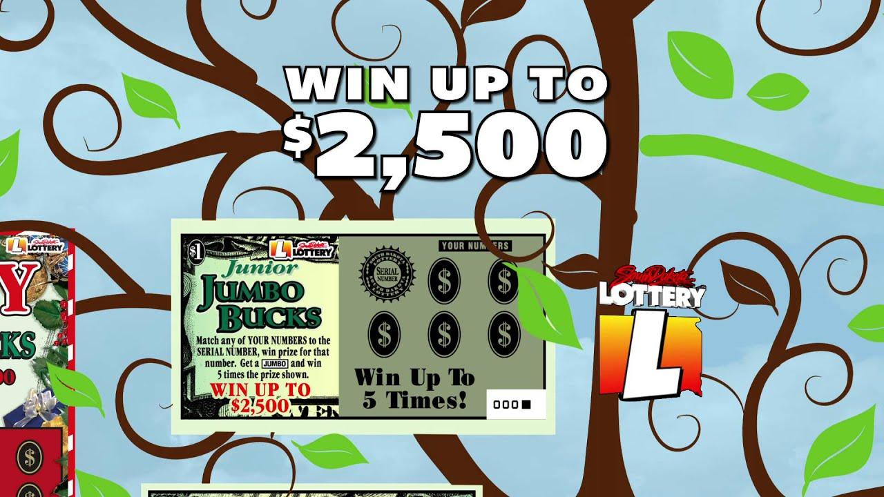 South dakota lottery jumbo bucks family of scratch tickets youtube south dakota lottery jumbo bucks family of scratch tickets sciox Images