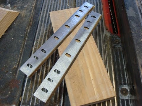 Jig to Sharpen Planner Blades