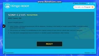xperia l c2105 kingo root