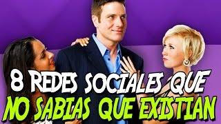 8 REDES SOCIALES QUE NO SABIAS QUE EXISTIAN thumbnail