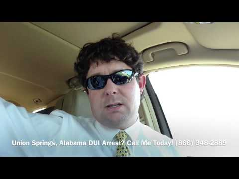 Union Springs, Alabama DUI Lawyer - Attorney for Union Springs, AL DUI Arrest