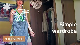 Simple wardrobe: 33 things for more happiness, less stress