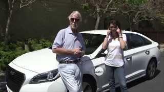2016 Hyundai Sonata Hybrid & Plug-In: His Turn - Her Turn Car Review with Paul Brian and Lauren Fix