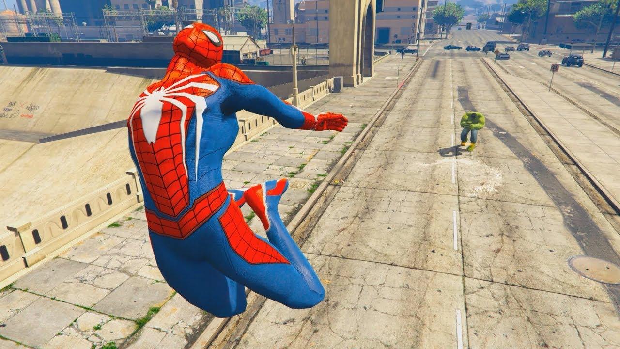 GTA 5 Hulk Vs Spiderman Ragdolls Compilation | (GTA 5 Fails Funny Moments Ragdolls)