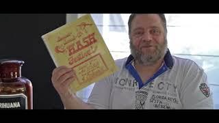 Jair's Hourglass #8: Hash Bash Flyer