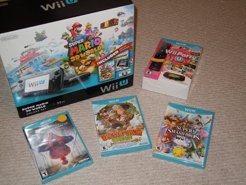 Wii U Unboxing And Review