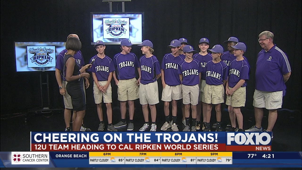 Daphne 12U Trojans heading to the Cal Ripken World Series