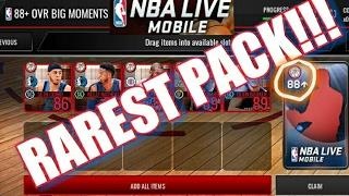 RAREST & CRAZY PACK ON NBA Live Mobile