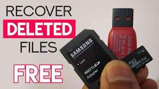 Recover Deleted Photos & Videos From SD Card | Free SD Card Recovery Software