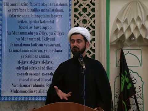 Qiyamət gunu Eşqin cazibəsi. Haci Rza Cumə xutbəsi 29.12.2017