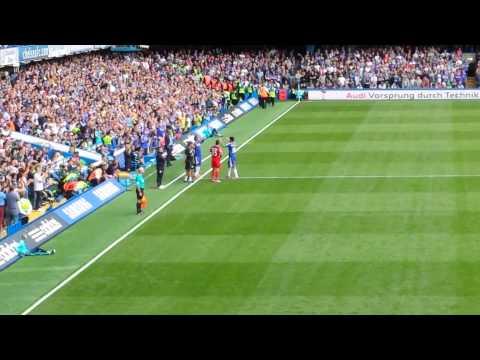 Didier drogba returned to Stamford Bridge