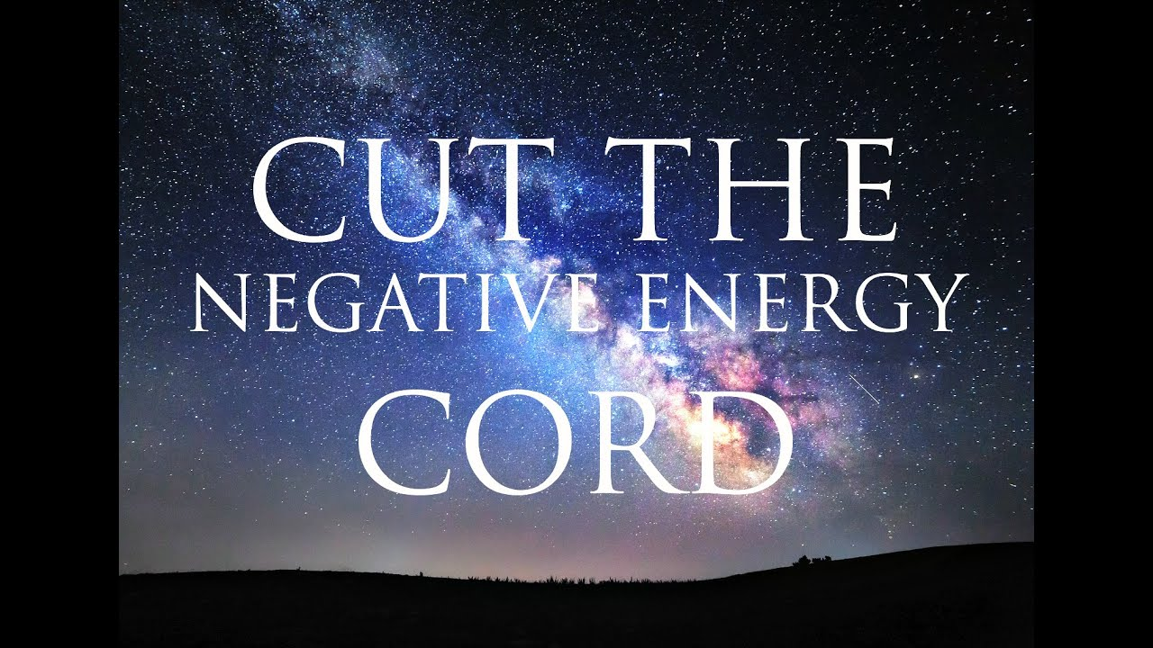 Hypnosis Cut The Cord Of Negative Energy From People And