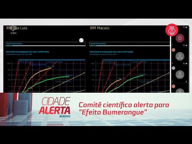 """Comitê científico alerta para """"Efeito Bumerangue"""" em Maceió e outras capitais"""