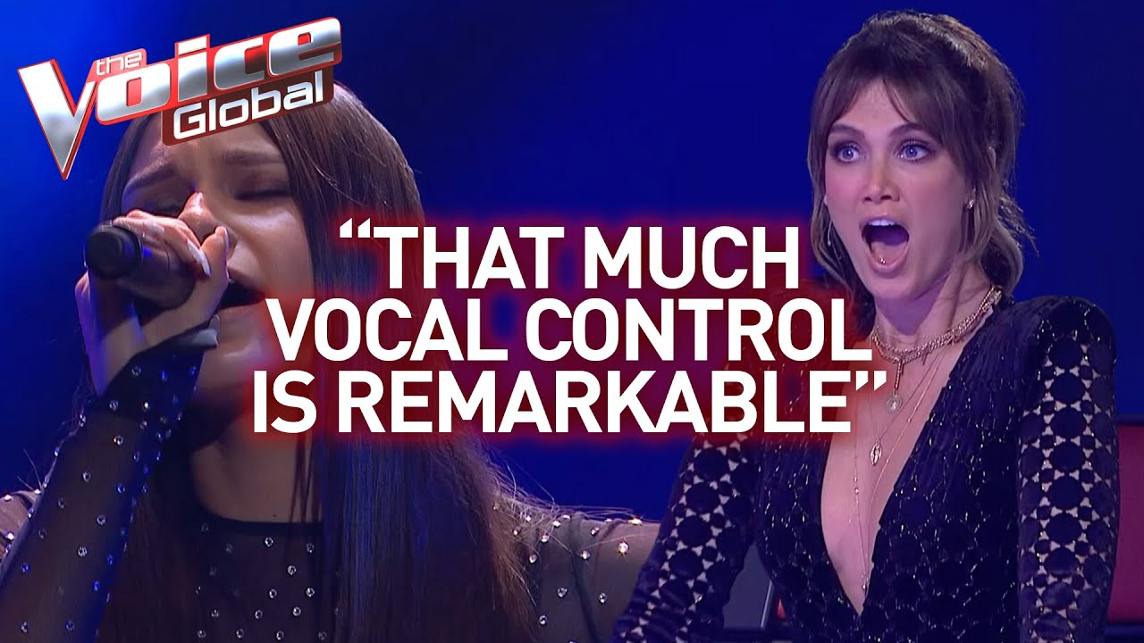Download 16-year-old's insanely high notes shock The Voice coaches | Journey #26