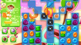 Candy Crush Jelly Saga Level 1367 (3 stars, No boosters)