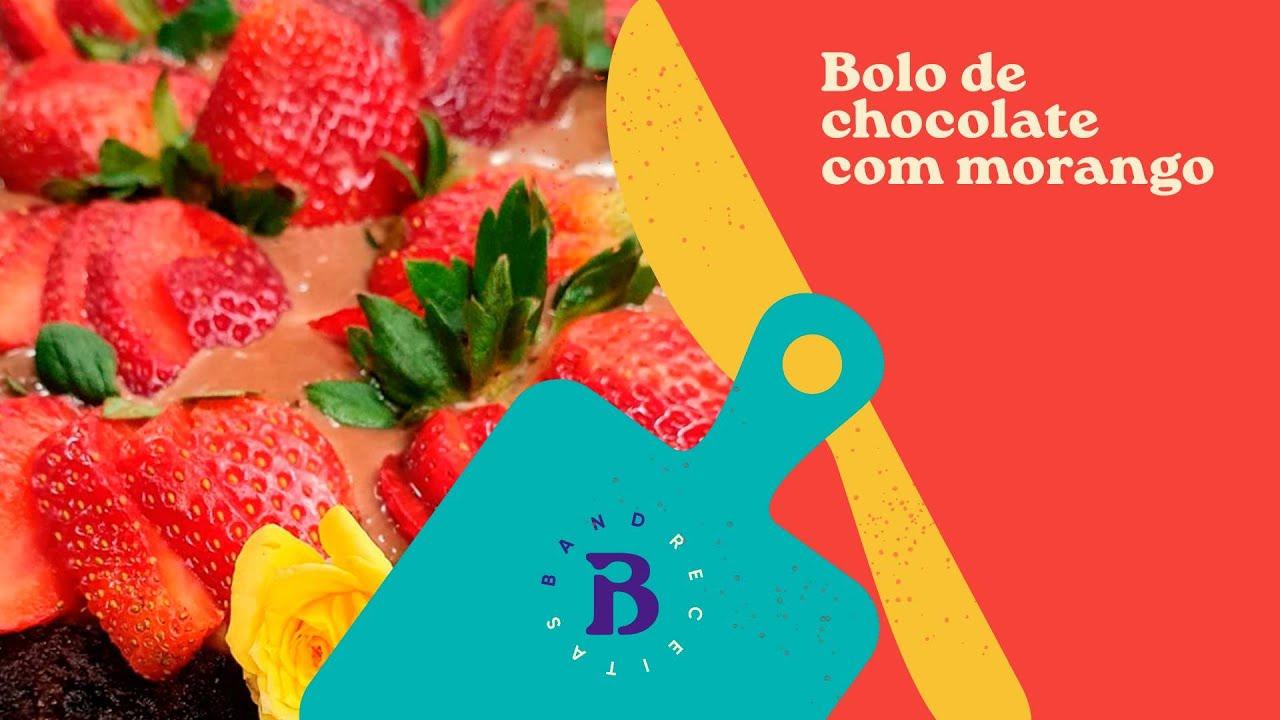 Bolo de chocolate com morango   Seli Ragazzi   The Chef