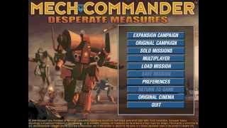 Necronalysis:  MechCommander Gold