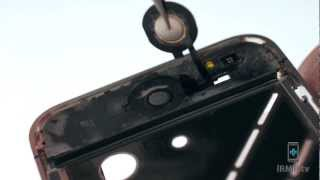 Home Button Flex Cable Repair - iPhone 4 How to Tutorial