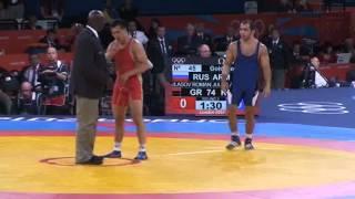 ОИ-2012 Роман Власов - Джулфалакян (Армения) Финал 74 кг.