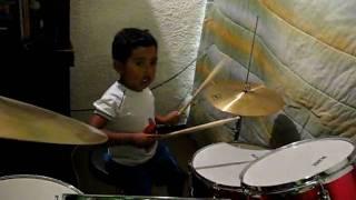 Chaquita, el mejor baterista del mundo.