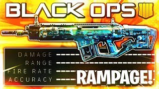 this RAMPAGE weapon wins EVERY GUNFIGHT on BLACK OPS 4! (Rampart 17 Best Class Setup)